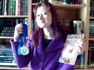 "Daniela Herbst, Gewinnerin des 2. Platzes der Story-Olympiade 2009-2010 ""Rache!"""