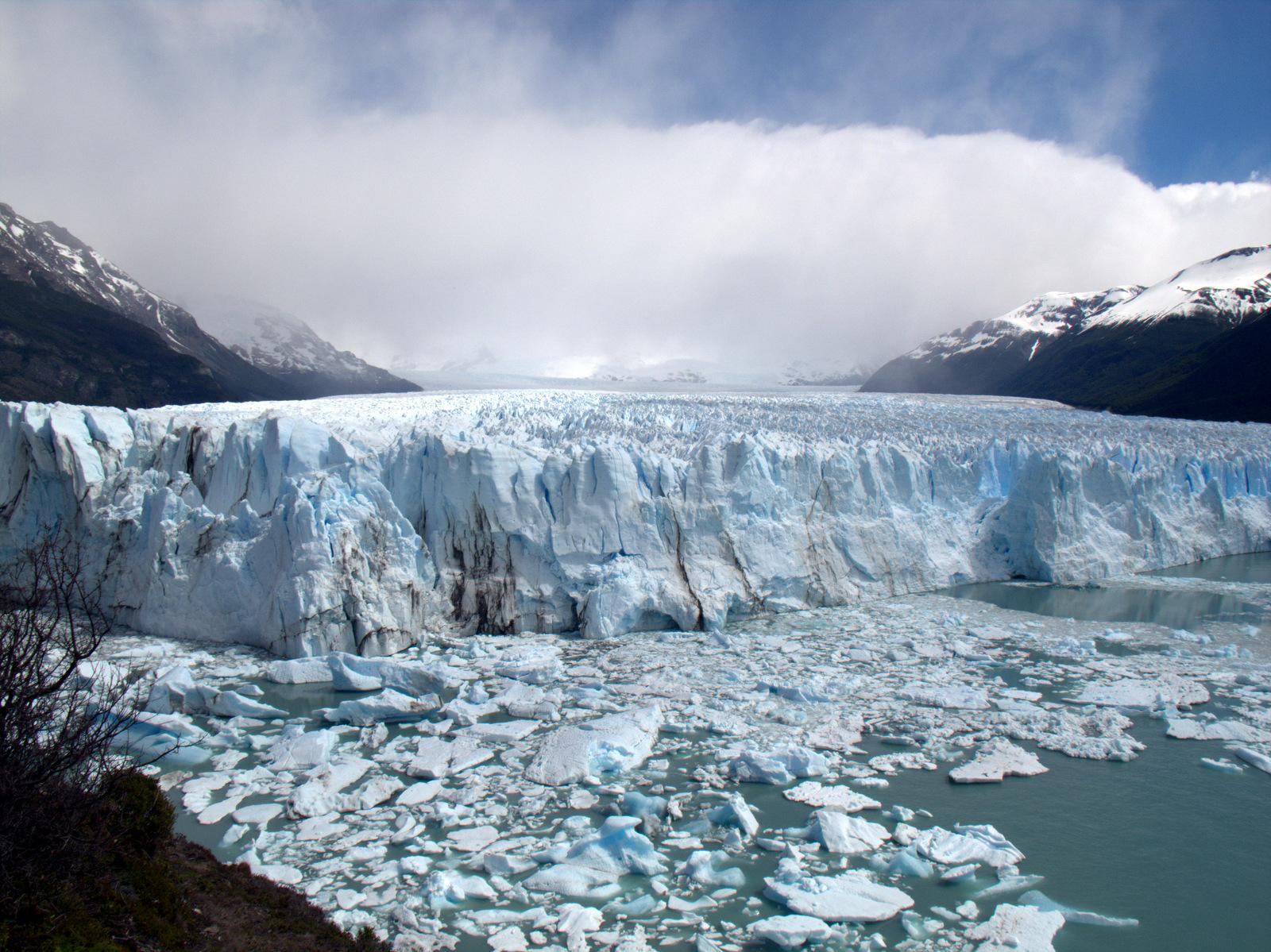 Blick auf den Perito-Moreno Gletscher in Patagonien - November 2012